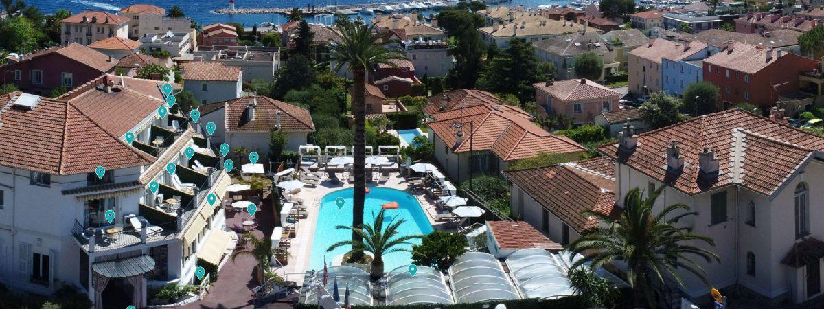 Visite virtuelle villa Cap Ferrat